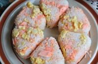焼鮭と卵の白だしおにぎり<まぜご飯>