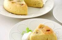 型・オーブン不要!炊飯器deらくウマ♡バナナケーキ