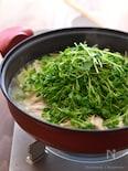 レモン鶏の白菜蒸し鍋