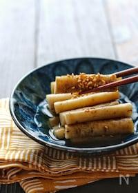 『ヒガシマル醤油「京風割烹白だし」で*ごぼうの白だし漬け*』