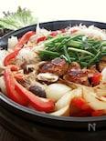 ホットプレートで作ってレタスで巻いて食べる、鶏肉のプルコギ