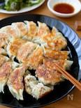 ポイントはキャベツの下茹で!『キャベツたっぷり焼き餃子』