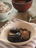 椎茸と生姜の黒酢煮