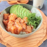 ウチの漬けサーモン丼§漬けサーモンの配合・すし飯の配合