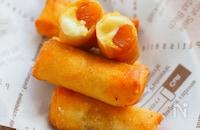 裏ごしなし!芋羊羹で簡単おやつ「スイートポテトチーズパイ」