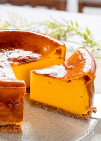 『かぼちゃのベイクドチーズケーキ』