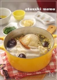 『おうちで簡単・参鶏湯スープ』