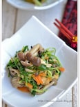 水菜の中華風煮浸し【作りおき】