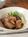 豚ロースの黒酢煮