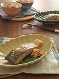 ごはんがすすむ☆鮭のみそマヨガーリック焼き