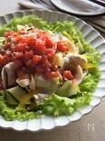 フレッシュトマトソースで食べる冷しゃぶサラダ