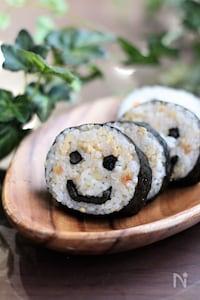 にこにこスマイルマーク【飾り巻き寿司】
