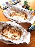 トースター任せで簡単♡白身魚と新玉ねぎのオイマヨホイル焼き