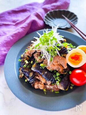 ごはんがすすむ⭐︎とろとろ茄子と豚肉のオイスター炒め