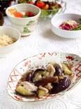 寿司酢で楽うま☆茄子と豚バラのサッパリ煮!