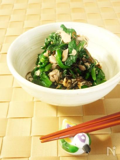 ほうれん草×ツナの絶品レシピ15選! 簡単&時短で大助かり♪の画像