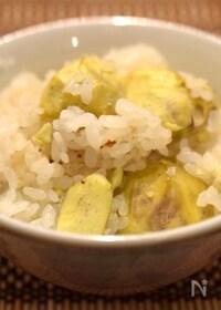 『ほっくり黄色い新栗ゴロゴロ栗ご飯』