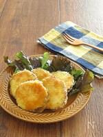 お弁当やおつまみに♪さつまいものカレーチーズフライ