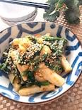 シャキホク美味しい♡レンチンで長芋とほうれん草のサラダ