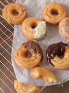 サクっ!米粉のオールドファッションドーナツ(グルテンフリー)