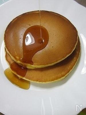ふっくらアーモンドパンケーキ♪