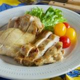 トースターで作る鶏肉のしっとりジンジャーグリル