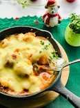 白菜だけロールのチーズ焼き