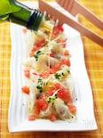 オリーブ&チーズの地中海風冷やし水餃子