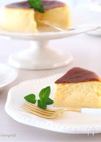 『<材料3つ!>とろける美味しさ♡半熟チーズケーキ♡』