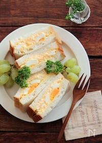 『燻製バターで、ごろんと卵サンド。』