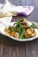 菜花とゆで卵のオイマヨサラダ