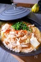 \味が絡む生姜大豆みそダレ/白菜と豚肉の大豆みそ煮