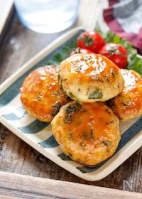 『しそチーズつくねのポン酢照り焼き【#作り置き #お弁当』