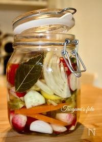 『イタリア発!保存食としても最適な野菜の洋風ピクルス』