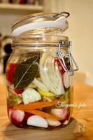 イタリア発!保存食としても最適な彩り野菜の洋風ピクルス