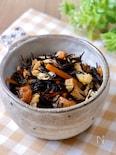簡単副菜『レンジで作る☆ひじきの煮物』