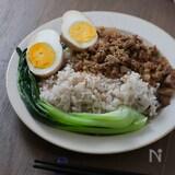 ひき肉でお手軽に♪簡単台湾料理ルーローハン