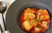 炊飯器で簡単♪豚バラ肉のトマト煮込み