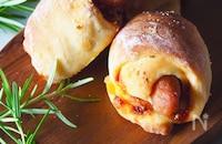 【発酵なしのスピードパン】かわいいミニソーセージパン