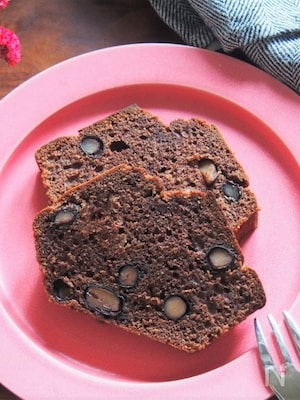 黒豆とココアのパウンドケーキ