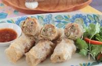 タイの揚げ春巻き§身近な食材で本格タイの味