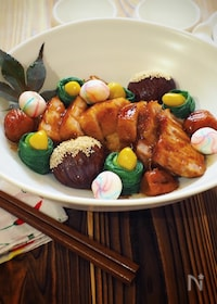 『炊飯器で簡単!豚の角煮〜梅風味』