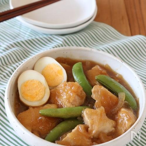 鶏むね肉のさっぱり煮