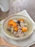 鶏肉と根菜のスープ