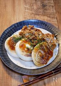 『【サク飯】焼肉のタレで簡単「新玉のプルコギ炒め」』