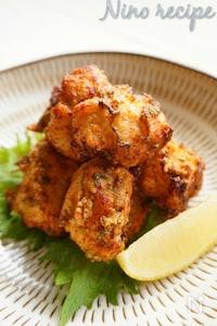 鶏の塩麹紫蘇タツタ