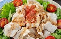 お肉柔らか!豚しゃぶのピリ辛中華サラダ