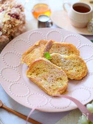 ブランパンで♪豆乳フレンチトースト
