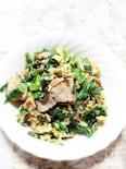 鶏もも肉の青菜チャンプルー