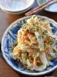 味付け3つ♡最強トリプル♡抱えて食べたい♡白菜のマヨ和え♡